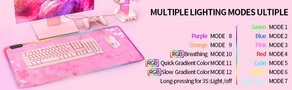 cute pink mouse pad