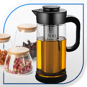 XOQute cold brew maker XOQ TRY WITH TEA