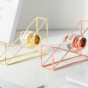 tape dispenser desktop tape dispenser rose gold desk accessories tape dispenser cute