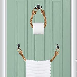 Wall Mount Tissue Roll Hanger
