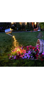 solar watering can light