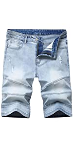 jeans for men boys skinny shorts ripped stretch jean mens blue short 34 relaxed fit mens