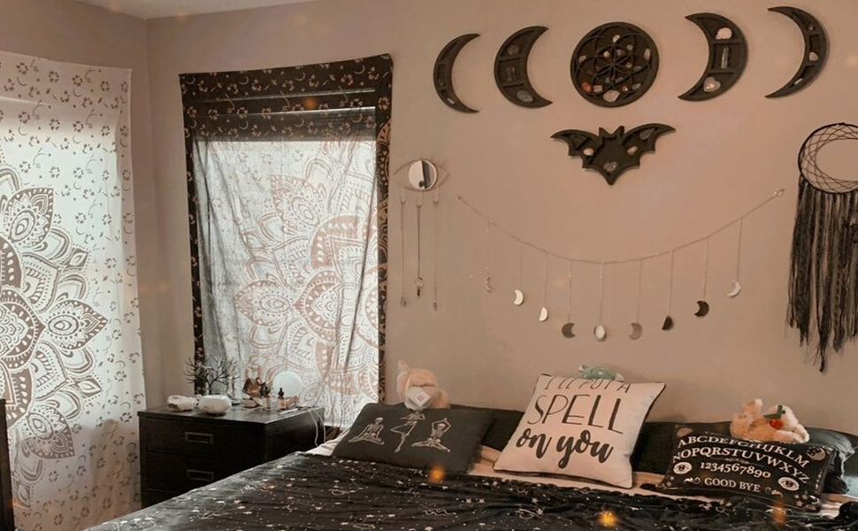 Goth Bedroom  Decor