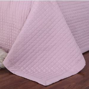 Royal Hotel Bedding Annabel Oversized cHECKERED SOFT AND PLUSH Coverlet Set
