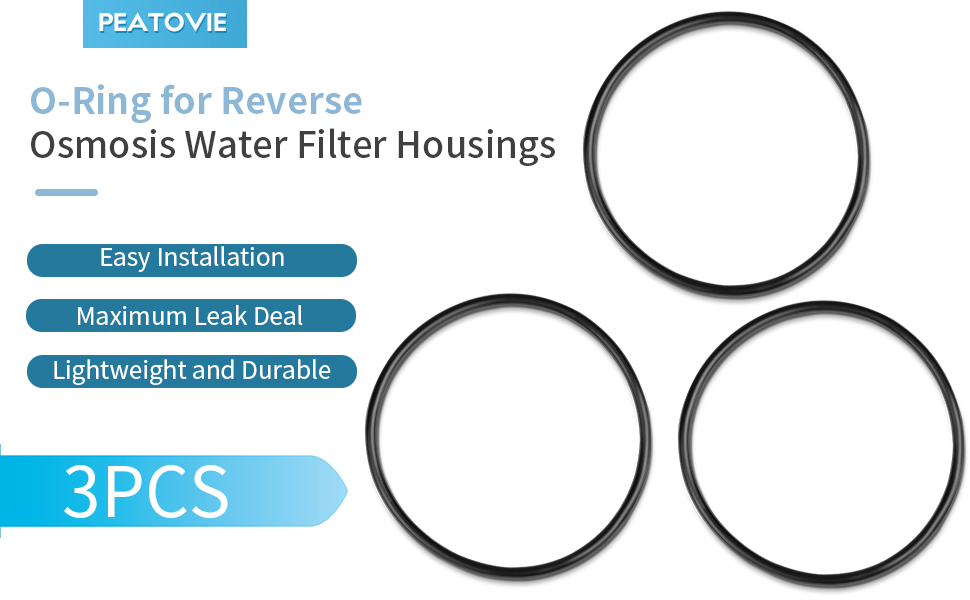 O-Ring for Reverse Osmosis Water Filter Housings
