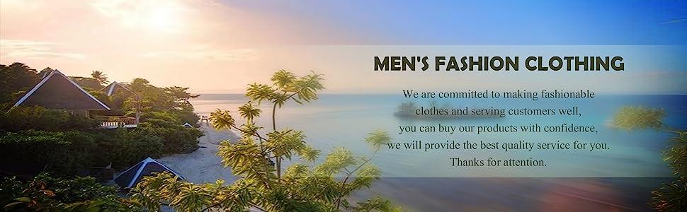 MENS FASHION BEACH SHIRTS