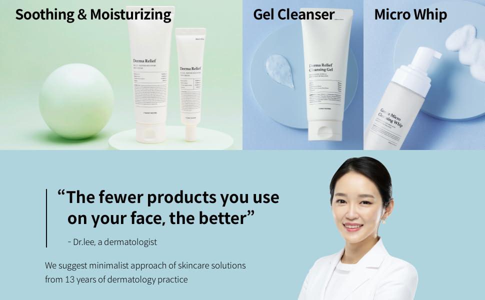 Foretderm skin care cream after laser treatment