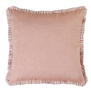 pleats red cushion cover for your bedroom bedsheet in double bed
