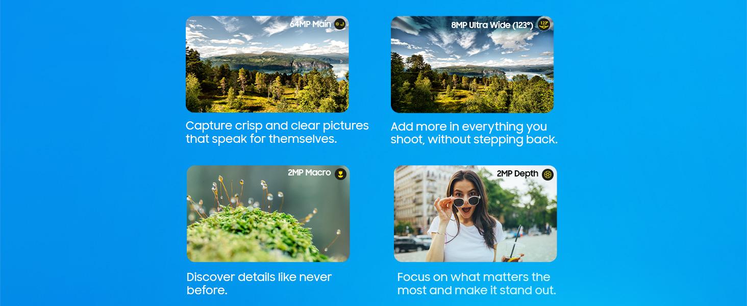 Camera multi features