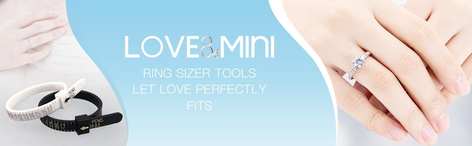 Loveamp;Mini ring sizer