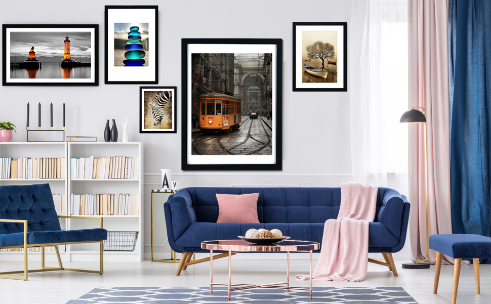 Can be combined with frames of other sizes for adding a great touch to your room.