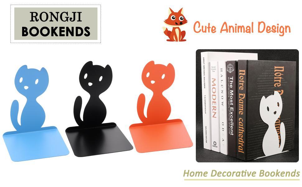 Creative Animal Fox Decorative Bookends