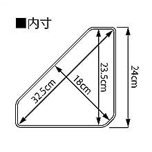 山崎実業(Yamazaki) マグネットバスルームコーナー おもちゃラック ホワイト 約33X18.5X10cm タワー 4264