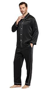 silk pajama for men