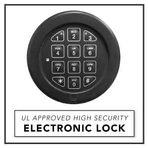 Stealth Safe B3000 Electronic Lock Floor Safe In Ground Storage Made in USA