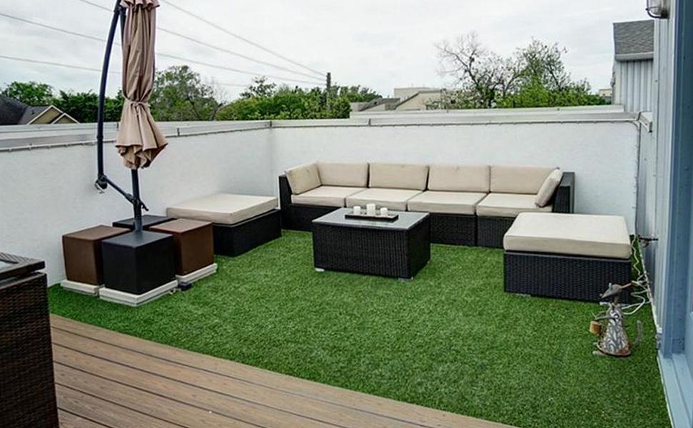 NQN Exclusive garden Artificial Grass Rug