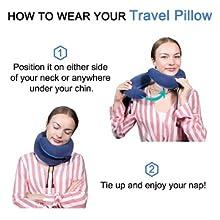 providing 360° surrounding head and neck