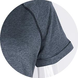 Rolled Sleeve Detail