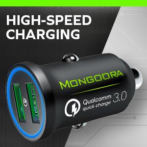 Mongoora Metal Car Charger
