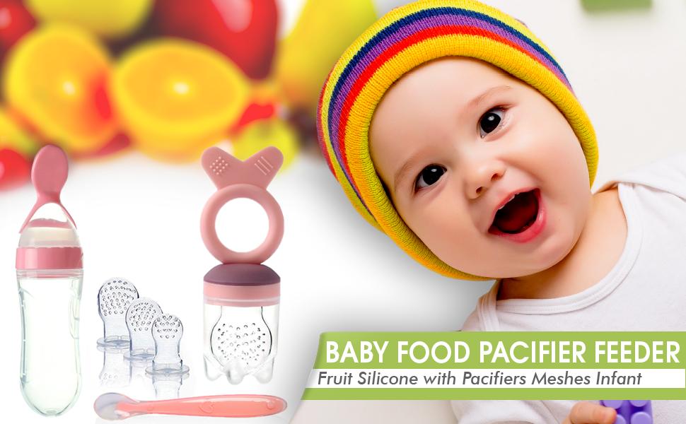 baby food fruit pacifier feeder