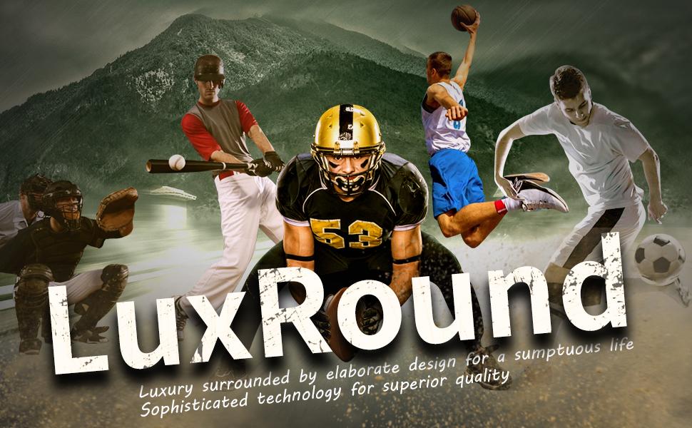 LuxRound Balls Memorabilia Display Cases