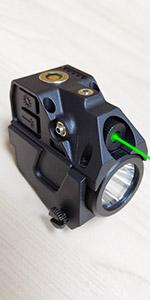laser and light combo for pistol