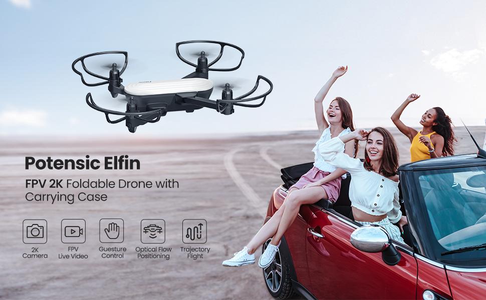 Potensic elfin 4k drone