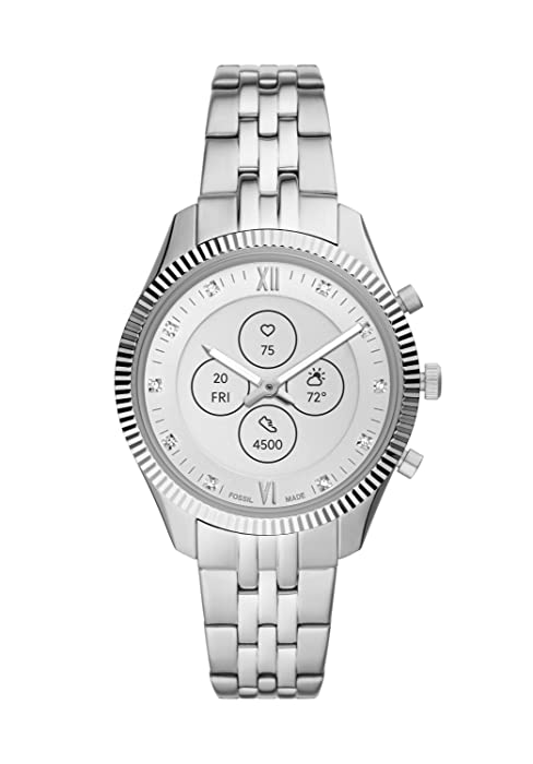 Fossil Womenamp;amp;amp;#39;s Scarlette Mini Hybrid Smartwatch HR