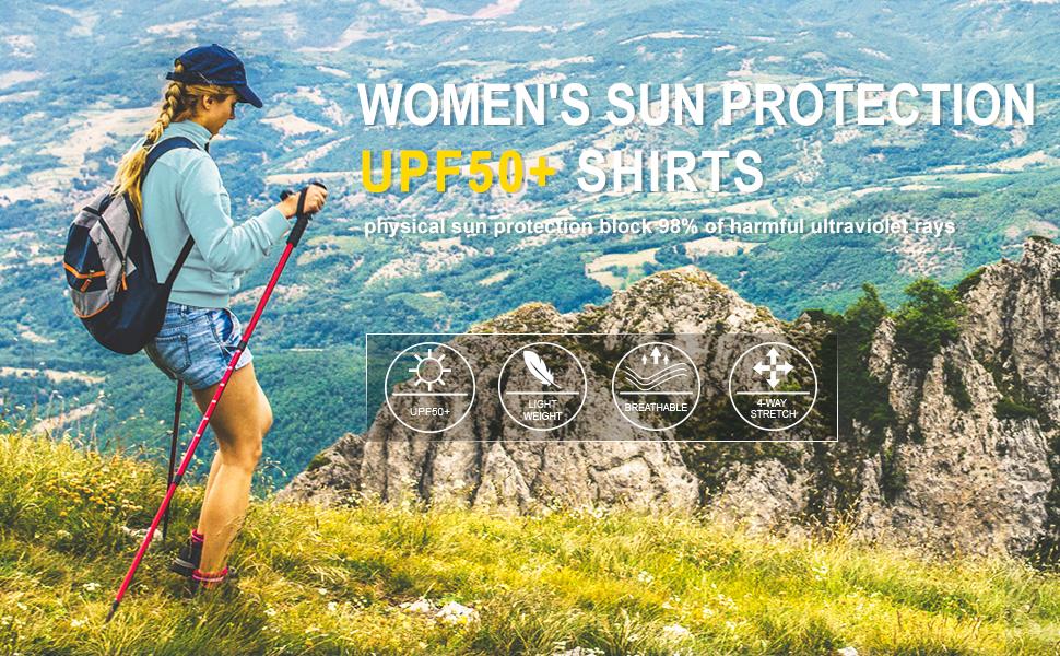 women sun shirts