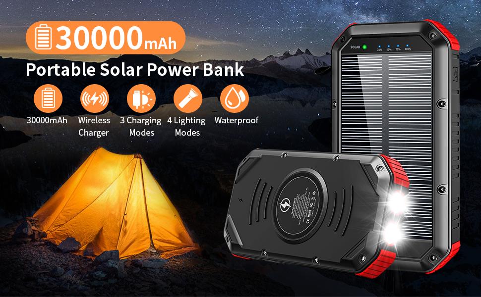 solar power bank solar charger