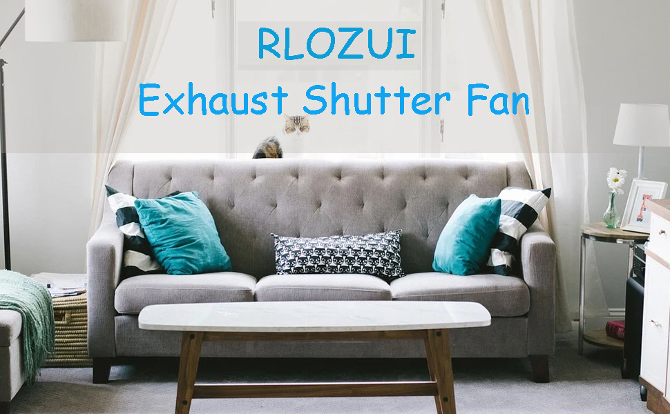 Exhaust Shutter Fan