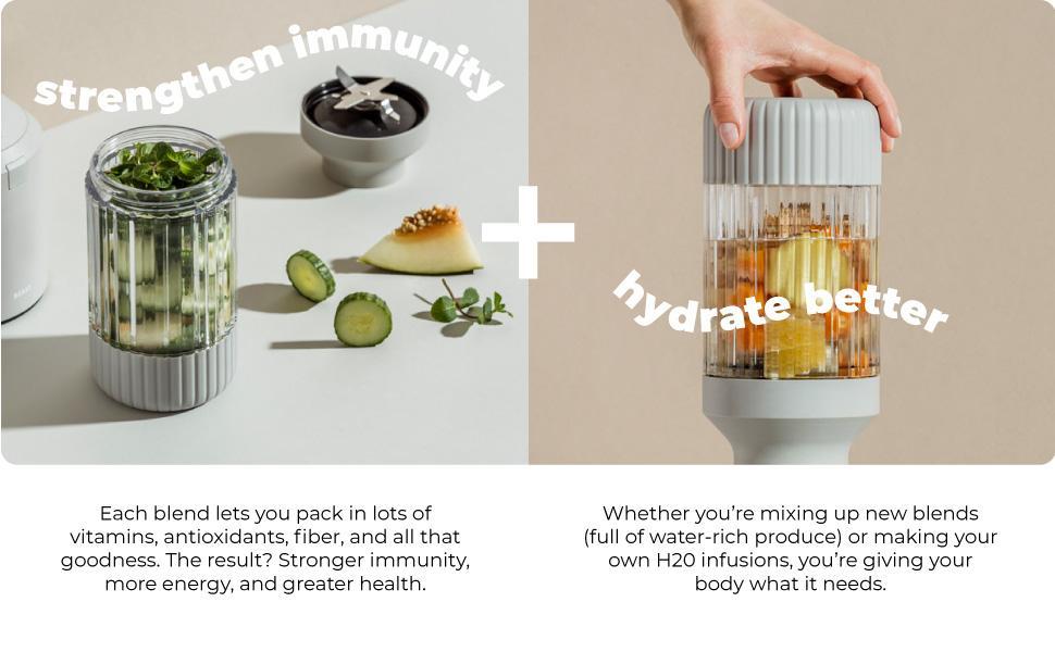 Strengthen Immunity + Hydrate Better