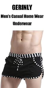 GERINLY Menamp;#39;s Casual Home Wear Underwear