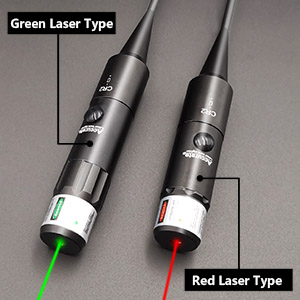 red or green laser bore sight kit