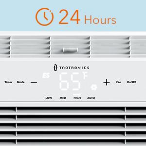 Window Air Conditioner with Timer
