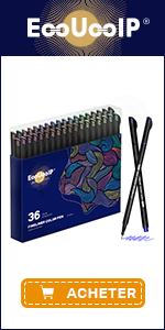 EooUooIP 36 Colours Fineliner Pens