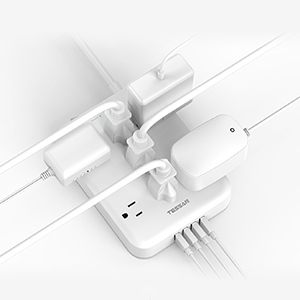 widely spaced ac outlets