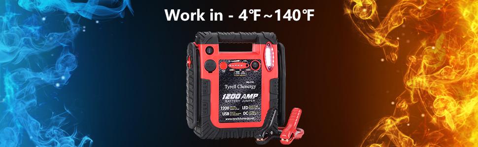 car battery charger jump starter