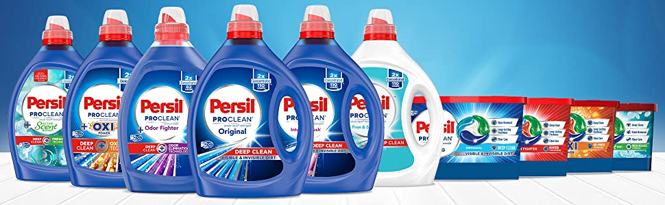 Try the Whole Family of Persil Products