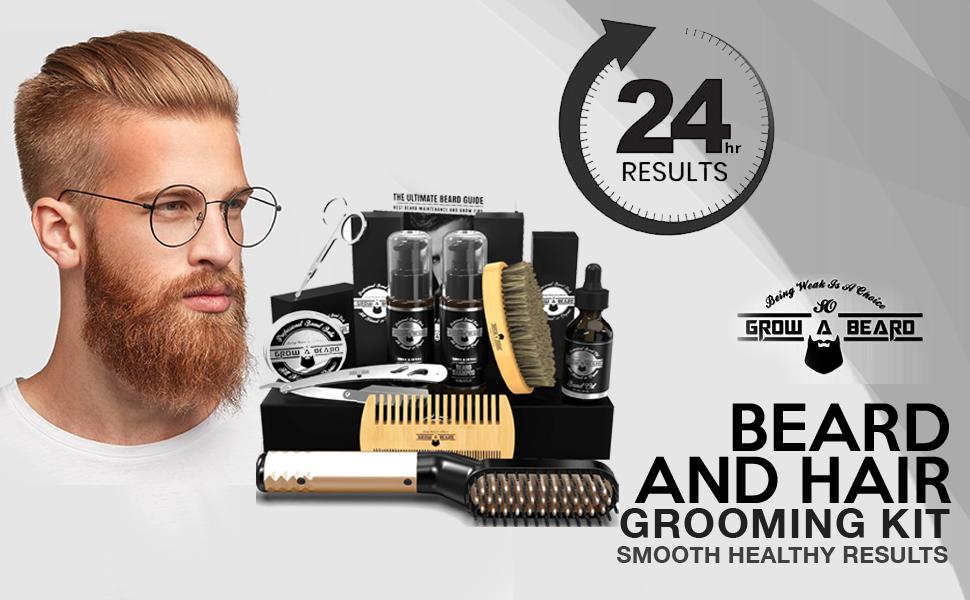 Beard Oil, Beard Straightener, Beard Balm, Beard Brush, Comb, Shampoo, Razor, Scissor, Conditioner.