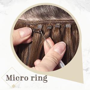 sew in human hair
