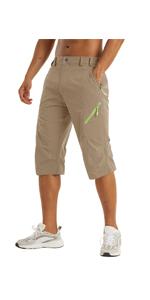 mens cargo shorts,3/4 length shorts, long shorts, knee length shorts, work cargo
