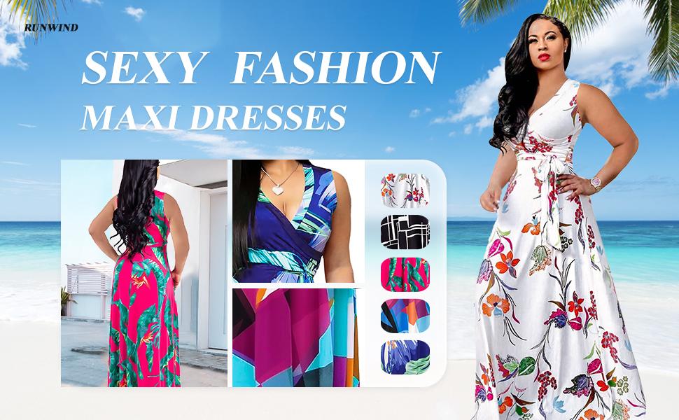 Sexy fashion Maxi dresses