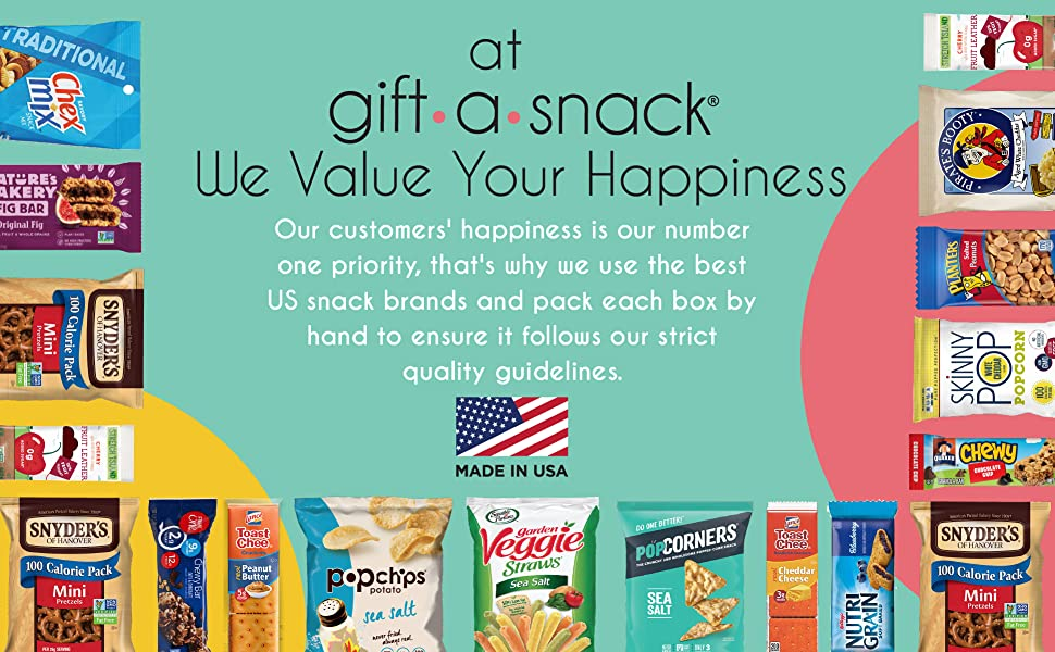 gift a snack care package we value your hapiness