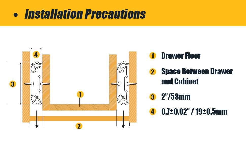 Drawer Slides Installation