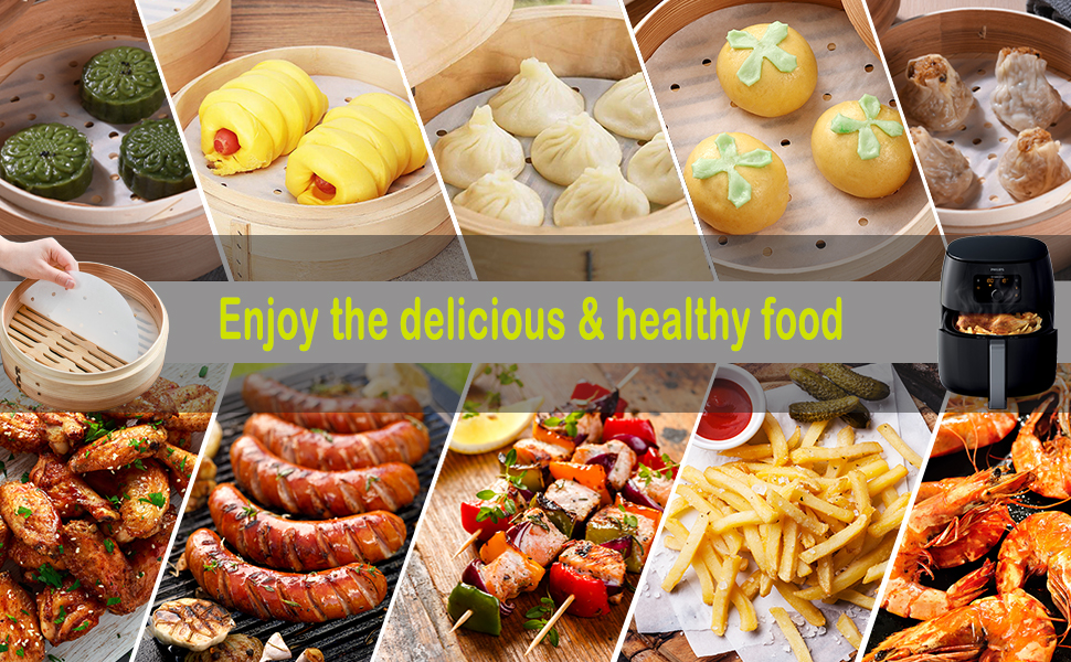 enjoy the delicious and healthy food