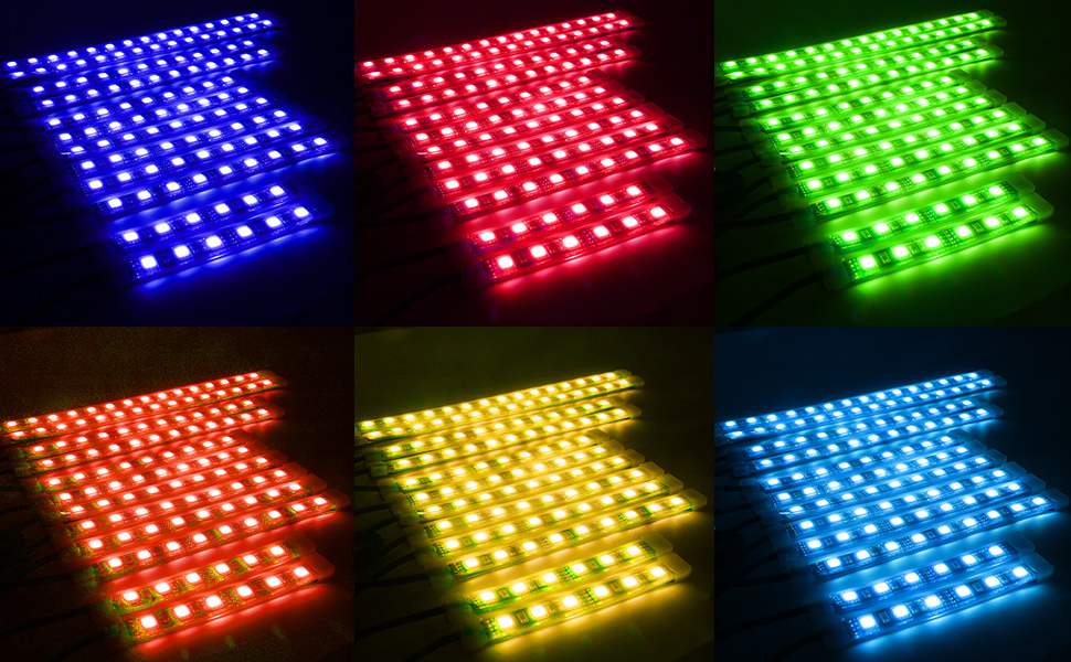 led motorcycles strips
