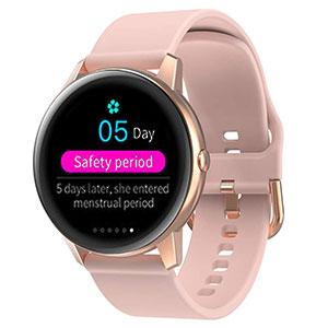 smart watch with manstrual reminder