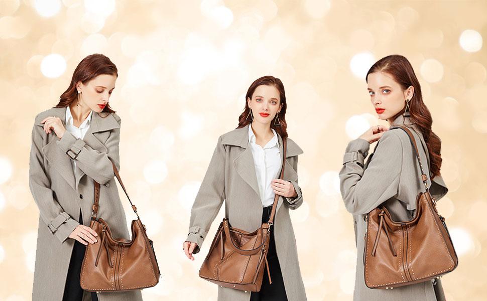 shoulder bag concealed carry purse