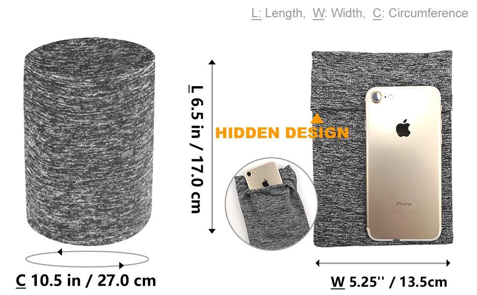 large cellphone armband for running walking jogging trekking gardening hiking camping climbing yoga